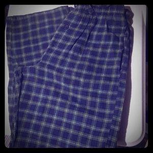 Men's Sleepwear bottoms Size Small 28-30